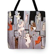 Wire Mothers Tote Bag