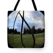 Wire Rope Loggers Noose Tote Bag