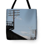 Wire Terminal Structures Tote Bag