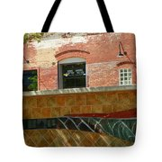 Wire Works Coffee House Tote Bag