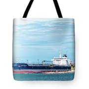 Wisby Atlantic - Incoming Ship Tote Bag