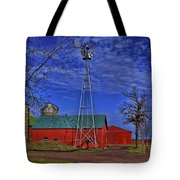Wisconsin Amish Farm Tote Bag