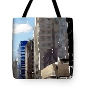 Wisconsin Ave 1 Tote Bag