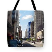 Wisconsin Ave 2 Tote Bag