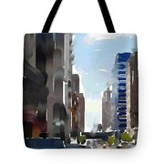 Wisconsin Ave 3 Tote Bag