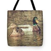 Wisconsin Ducks Tote Bag