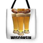 Wisconsin Food Pyramid Tote Bag