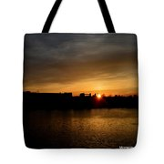 Wisconsin Sunset 10 Tote Bag