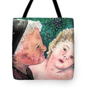 Wisdom And Innocence Tote Bag