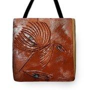 Wise Eyes - Tile Tote Bag