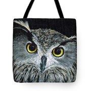 Wise Eyes II Tote Bag