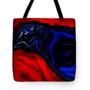 Wise Old Crow In Strange Light. Tote Bag