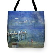 Wish You Were Here Chambers Landing Lake Tahoe Ca Tote Bag