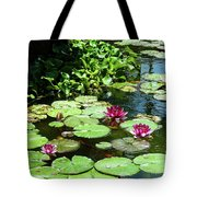 Wishes Among The Water Lilies Tote Bag