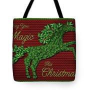 Wishing You Magic This Christmas Tote Bag