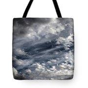 Wispy Skies Tote Bag