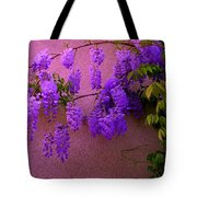 Wisteria At Sunset Tote Bag