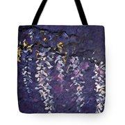 Wisteria Digital 1 Tote Bag
