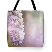 Wisteria Flowers In Sunlight Tote Bag