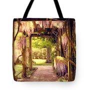 Wisteria In Watercolor Tote Bag