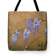 Wisteria Tote Bag by Leah  Tomaino