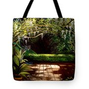 Wisteria Shadows Tote Bag