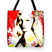 Wistful Flutter Tote Bag
