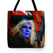 Witch On The Run Tote Bag