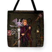 Witch Ritual Tote Bag