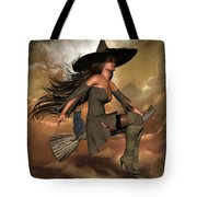 Witch Way  Tote Bag