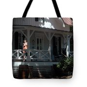 Witch With The Golden Mask Tote Bag