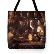 Witchcraft Allegory Of Hercules 1535 Tote Bag