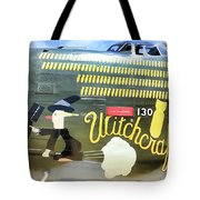 Witchcraft Bombs Away  Tote Bag