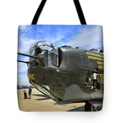 Witchcraft Wwii Bomber Tote Bag