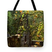Witches Castle Tote Bag