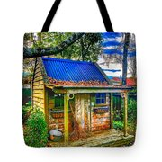 Witches House Tote Bag
