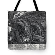 Witches Sabbath, 1630 Tote Bag