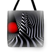Witchhat Opart Tote Bag