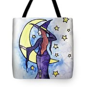 Witchy Moon Tote Bag