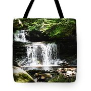 With A Full Heart Tote Bag