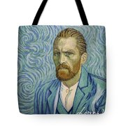 With A Handshake - Your Loving Vincent Tote Bag