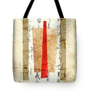 With A Touch Of Red Tote Bag