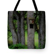 With A View Tote Bag
