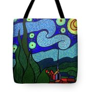 With Apologies To Vincent Tote Bag