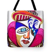 With Deep Thoughts And Tears - II Tote Bag