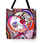 With Deep Thoughts And Tears - Iv Tote Bag