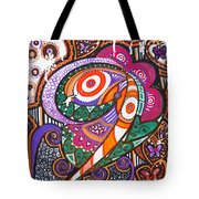 With Deep Thoughts And Tears - Vi Tote Bag