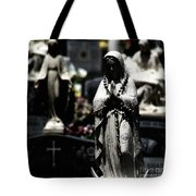 With Every Bead A Prayer Tote Bag