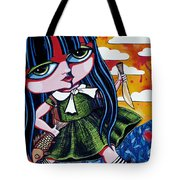 With Fish And Gold Coin Tote Bag