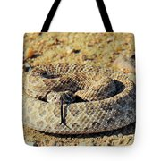 With Forked Tongue Tote Bag